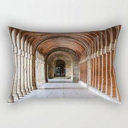 Arcade in Royal Palace of Aranjuez in Madrid Rectangular Pillow