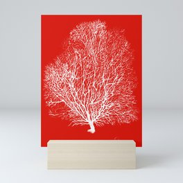 Red Coral Painting Mini Art Print