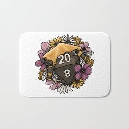Honeycomb D20 Tabletop RPG Gaming Dice Bath Mat