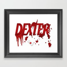 Dexter - fan art Framed Art Print