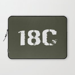 18C Special Forces Engineer Laptop Sleeve