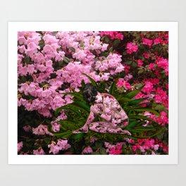 Rhododendron Spirit Art Print