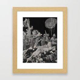 The Hostage- Cowboys Of Atlantis Framed Art Print