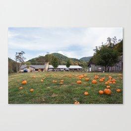 Hickory Nut Gap Farm - Market Canvas Print