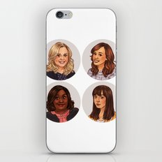 Parks and Recreation ladies iPhone & iPod Skin