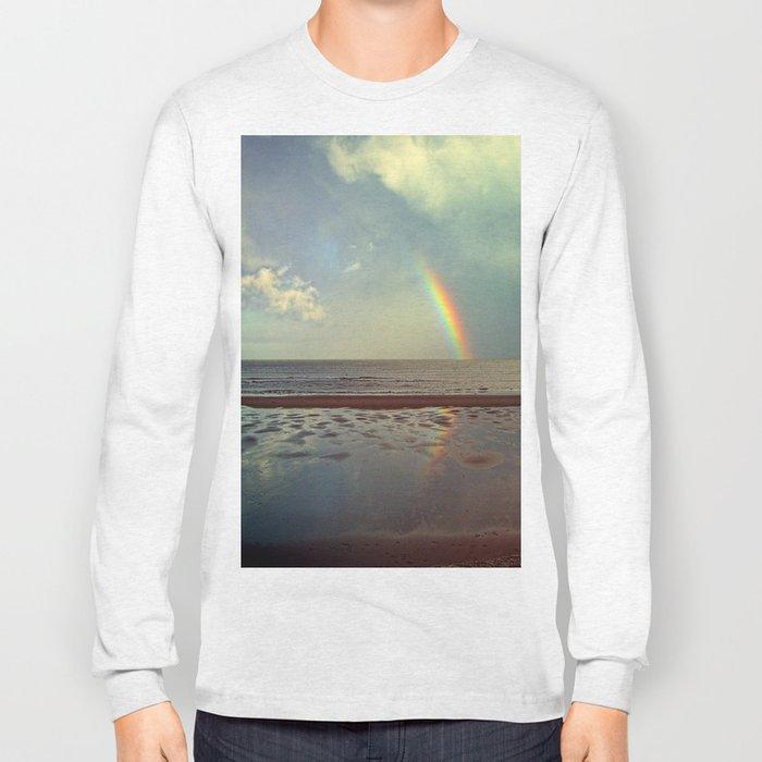 Rainbow Over Sea Long Sleeve T-shirt