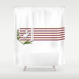 Escudo Venezuela Concepto 1 Shower Curtain