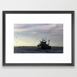Kim Thanh Floats On Framed Art Print