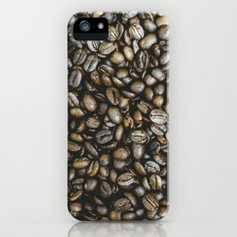 Coffee beans in Colombia iPhone Case