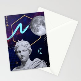 Ancient Gods and Planets: Moon Stationery Cards