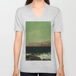 "Gustave Courbet ""The Mediterranean"" Unisex V-Neck"