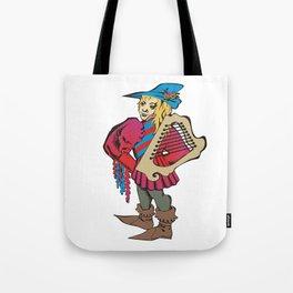 troubadour Tote Bag