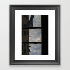 Up There Framed Art Print