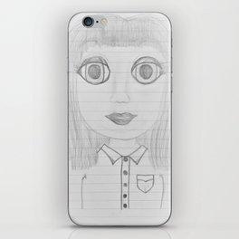 Clara Stare iPhone Skin
