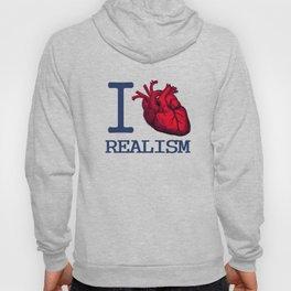 I heart realism Hoody