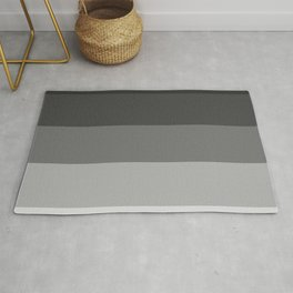 Soft Gray Stripes in Perfect Balance Rug