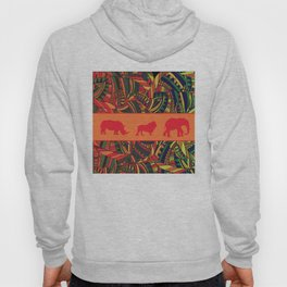 African Tribal Pattern No. 16 Hoody