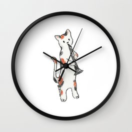 Reed Meowtet: Anette Wall Clock
