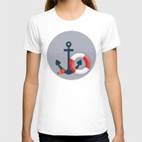 nautical T-shirts featuring Nautical  by Miracle