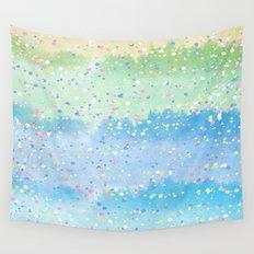 Spring Splatter Wall Tapestry