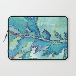Striation, Brazilian Tide, 1 Laptop Sleeve