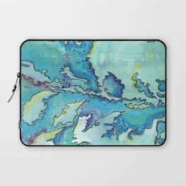Striation, Brazilian Tide, 1 Laptop Sleeve