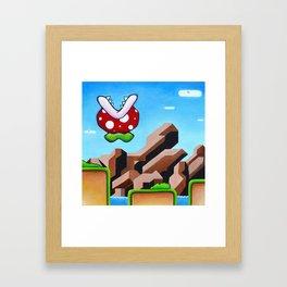 "'Zoloft' 12"" x 12"" Acrylic and Marker on Canvas 2012 Dan Gribben Framed Art Print"
