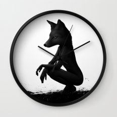 The Silent Wild Wall Clock