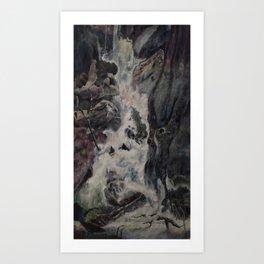Threshold Art Print