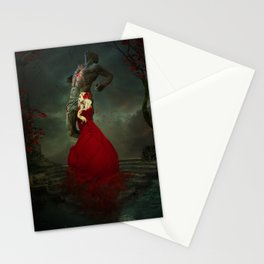 The Martyr and the Saint Stationery Cards