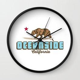 Oceanside California. Wall Clock