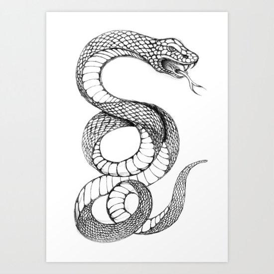 snake 02 Art Print