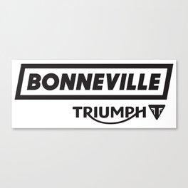 Bonneville Canvas Print