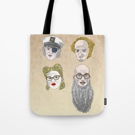 A Series of Unfortunate Events' Count Olaf Tote Bag