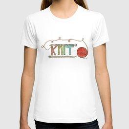 K-N-I-T T-shirt