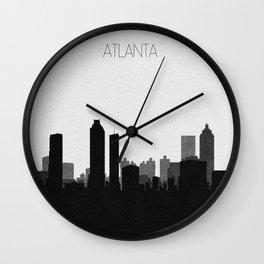 City Skylines: Atlanta Wall Clock