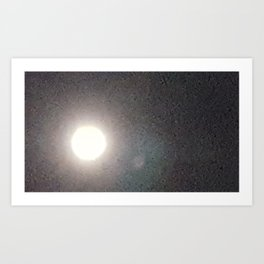 Full Moon 1 Art Print