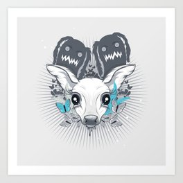 Bambii Art Print