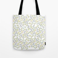 tequila Tote Bags featuring Tequila party by Brendan Soulos Illustrations
