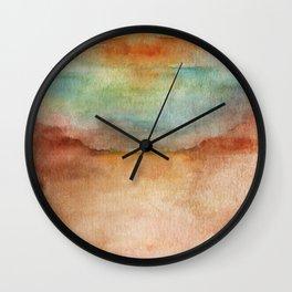 SUNSET FADE Wall Clock