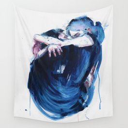 the noise of the sea Wall Tapestry