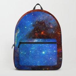 Red & Blue Nebula Backpack