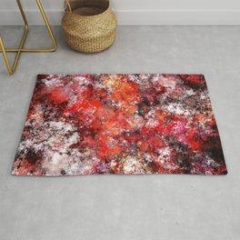 The red sea foam Rug