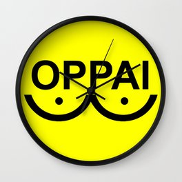 Oppai Wall Clock