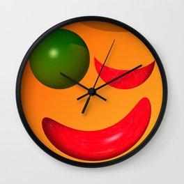 Keep smiling ... Wall Clock