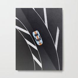 Motorsports  Metal Print