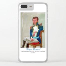 Belgrano de militar por Diego Manuel. Clear iPhone Case