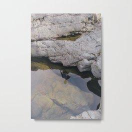 Potholes Metal Print
