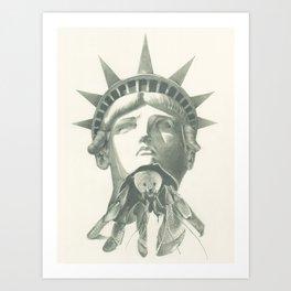 Tenants Within (Statue of Liberty) Art Print