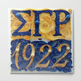 Sigma Gamma Rho 1922 Metal Print